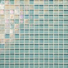 Daltile Glass Horizons Sky Blue Mosaic Blue GH033434PM1P