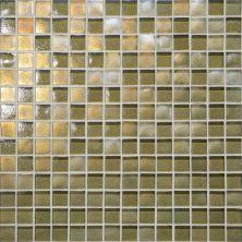 Daltile Glass Horizons Lagoon Mosaic Gold GH053434PM1P