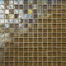 Daltile Glass Horizons Driftwood Mosaic Brown GH063434PM1P