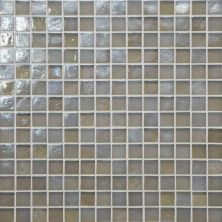 Daltile Glass Horizons Tide Mosaic Gray/Black GH083434PM1P