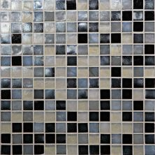 Daltile Glass Horizons Baltic Blend Gray/Black GH163434PM1P