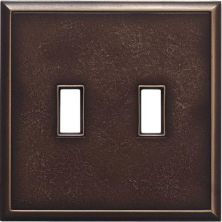 Daltile Ion Metals Antique Bronze Double Toggle IM01DT1P
