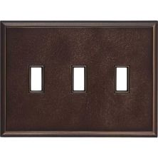 Daltile Ion Metals Antique Bronze Triple Toggle IM01TT1P