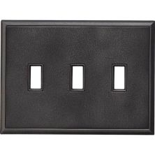 Daltile Ion Metals Antique Nickel Triple Toggle IM02TT1P