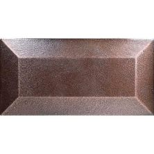 Daltile Ion Metals Oil Rubbed Bronze 3 x 6 Bevel Wall Tile IM0336MODBEV1P