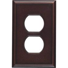 Daltile Ion Metals Oil Rubbed Bronze Single Duplex IM03SD1P