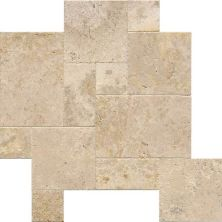 Daltile Travertine Collection Mendocino (versailles Pattern) Beige/Taupe BE14VERSPATT1N