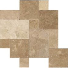 Daltile Travertine Collection Napa (versailles Pattern) Beige/Taupe BE15VERSPATT1N