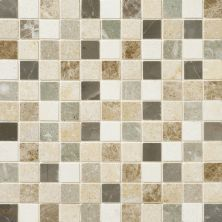 Daltile Marble Collection Brenta Blend (honed Mosaic) White/Cream DA8711MS1U