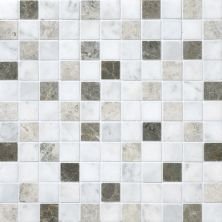 Daltile Marble Collection Tirso Blend Honed Mosaic Brown DA8811MS1U