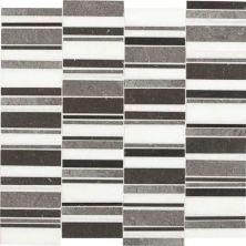 Daltile Marble Collection Cool Waterfall Blend Gray/Black DA913RANDMS1L