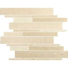 Daltile Marble Collection Havana Tan Random Linear Mosaic M1041215RDMS1P