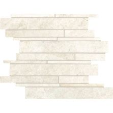 Daltile Marble Collection White Cliffs Random Linear Mosaic White/Cream M1051215RDMS1P
