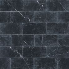 Daltile Marble Collection Nouveau Nero (tumbled) Gray/Black M31236TS1P