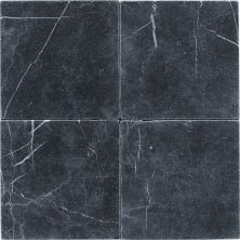Daltile Marble Collection Nouveau Nero (tumbled) Gray/Black M31266TS1P