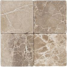 Daltile Marble Collection Emperador Light Classic (tumbled) Beige/Taupe M71244TS1P