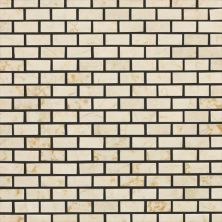 Daltile Marble Collection Crema Marfil Classico (Brickjoint Polished) M722121BJMS1L