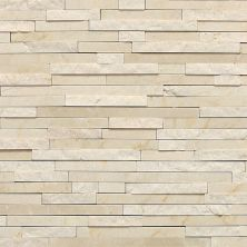 Daltile Marble Collection Crema Marfil Classico (3/8″ Random Polished, Honed, And Split Face) White/Cream M72238RANDMS1P