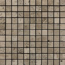 Daltile Marble Collection Silver Screen (tumbled) Gray/Black M74411MSTS1P
