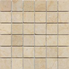 Daltile Marble Collection Champagne Gold (tumbled) Gold/Yellow M76022MSTS1P