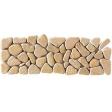 Daltile Marble Collection Champagne Gold (Pebble Accent) M760412PEBTS1P