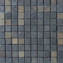 Daltile Slate Collection Indian Multicolor (tumbled) Gray/Black TS7011MS1P