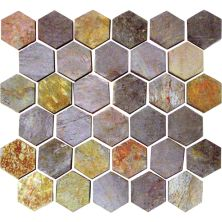 Daltile Slate Collection Indian Multicolor (Beehive Natural Cleft) S77122BHVMS1P