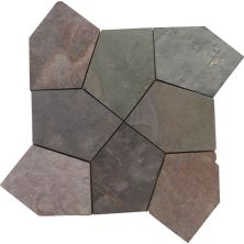 Daltile Slate Collection Indian Multicolor (Pattern Flagstone Pattern Natural Cleft Gauged) S771PATTNFLAG1P