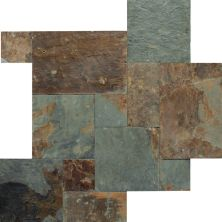 Daltile Slate Collection Mongolian Spring (versailles Pattern Natural Cleft Gauged) Green S781PATTERN1P