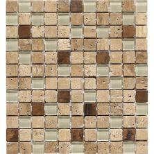 Daltile Travertine Collection Piave Blend (Tumbled) T31111MSBLDTS1P