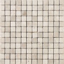 Daltile Travertine Collection Baja Cream (tumbled) Beige/Taupe T72011MSTS1P