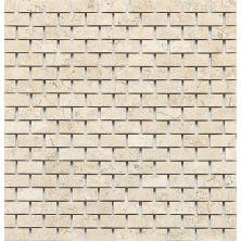 Daltile Travertine Collection Baja Cream (brickjoint Polished) Beige/Taupe T720121BJMS1L