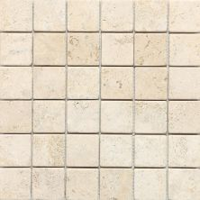 Daltile Travertine Collection Baja Cream (tumbled) White/Cream T72022MSTS1P