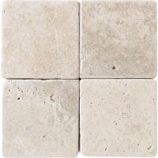 Daltile Travertine Collection Baja Cream (tumbled) White/Cream T72066TS1P