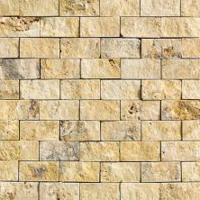 Daltile Travertine Collection Sienna Gold (Split Face) T73112SF1S