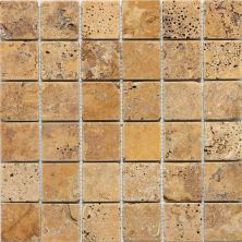 Daltile Travertine Collection Sienna Gold (Tumbled) T73122MSTS1P