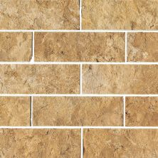 Daltile Travertine Collection Sienna Gold (split Face) Beige/T T731412SPLIT1T
