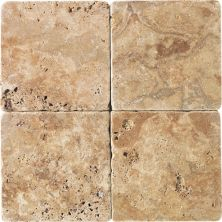 Daltile Travertine Collection Sienna Gold (tumbled) Gold/Yellow T73144TS1P