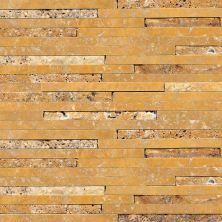 Daltile Travertine Collection Sienna Gold (3/8″ Random Polished, Honed, And Split Face) Terra Cotta's T73138RANDMS1P