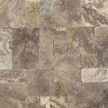 Daltile Travertine Collection Andes Gray Gray/Black TS35LGPATTERN1P