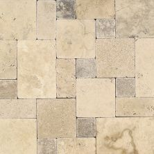Daltile Travertine Collection Peruvian Cream White/Cream TS36LGPATTERN1P