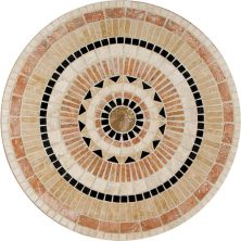 Daltile Medallion Collection Star Burst TSM136RNDMED1P