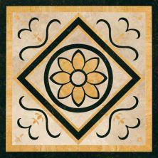 Daltile Medallion Collection Floral WJM14242MEDC1P