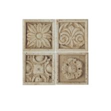 Daltile Fashion Accents Positano Insert 2″ X 2″ (set Of 4) Beige/Taupe FA2222DOTS1P