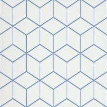 Emser Geometry Porcelain Matte/Satin Blue F39GEOMCUBL1010