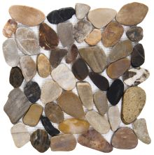 Emser Rivera Pebbles Flat Pebbles Honed 4 Color M05PEBBMC1212MF