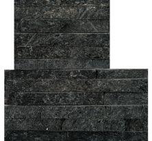 Emser Slate Black Quartzite Honed Black S05SL80BKMCRNSET