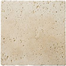 Emser Trav Fontane Tumbled Ivory Classic Travertine, Antique & Tumbled Honed, Tumbled & Unfilled Ivory Classic T06FONTIV0404UT
