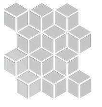 Emser Shape Cube Porcelain Glossy Gray W71SHAPGR1112MCUG
