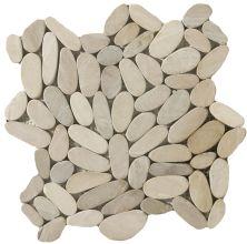 Emser Venetian Pebbles Flat Pebbles Honed Tan M18VENETA1212MFP11